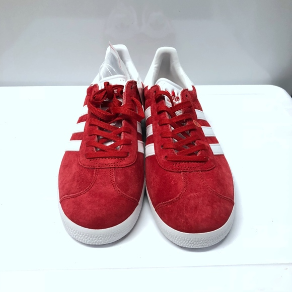 buy popular ca3af 1ac3b Adidas Originals Gazelle Size 9 Scarlet ba9598
